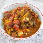Marinated Garlic Petimezi Pork chops with Sweet and Sour Sauce