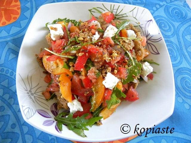 Apricot salad