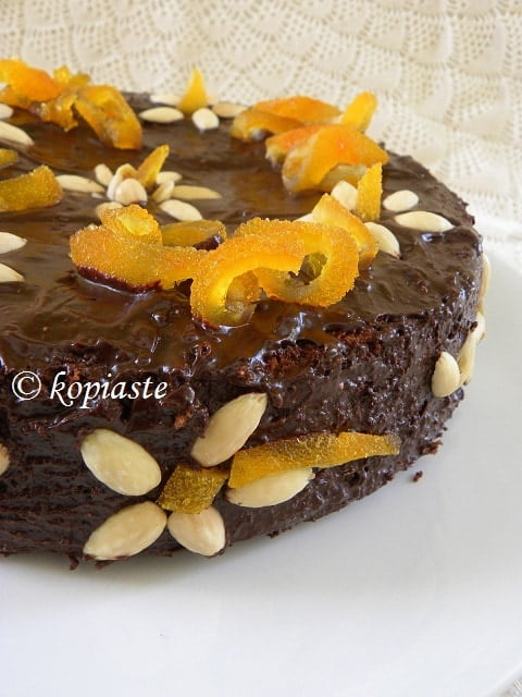 Almond Chocolate Cake 1