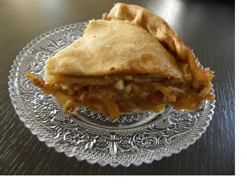kolokythopita Greek pumpkin pie