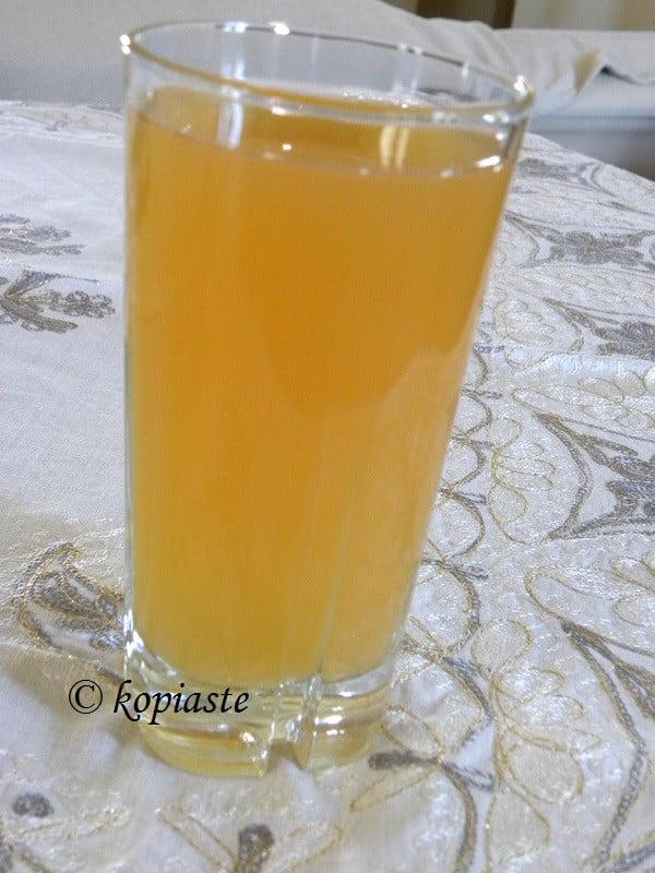 Peach and Apricot Ice Tea