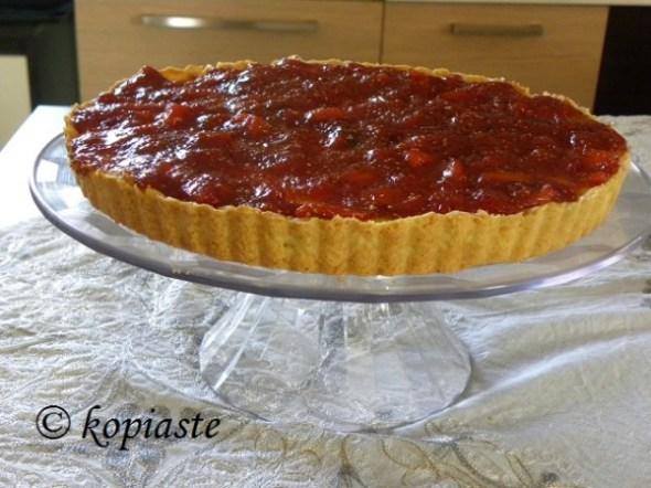 Anthotyros tart with figs
