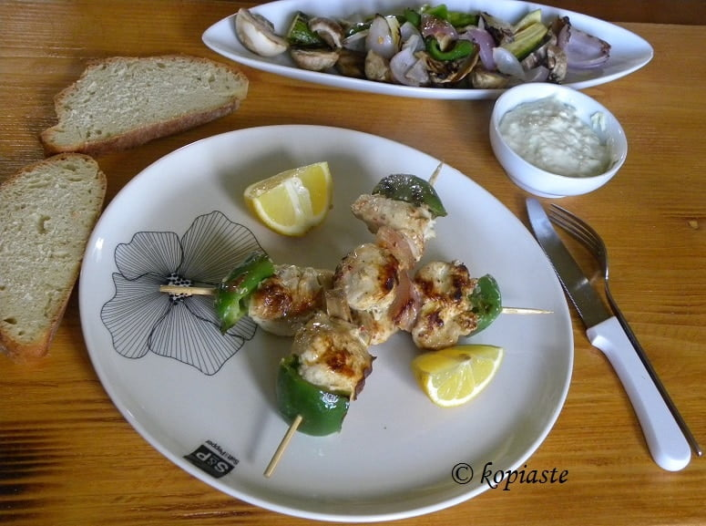 Marinated chicken with yoghurt4
