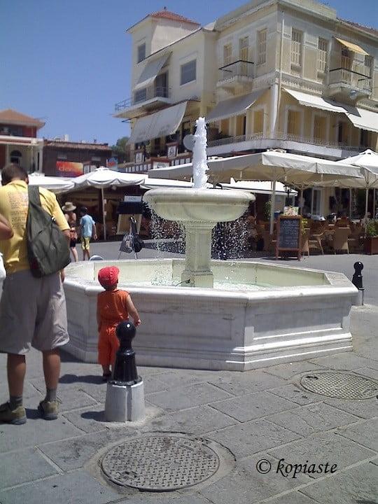 Chania fountain