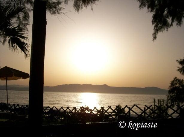 Sunset at Aghia Marina