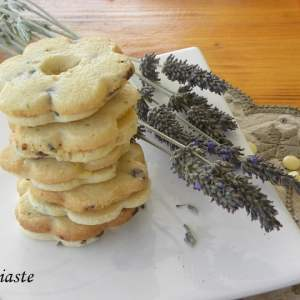 Lemon-lavender and mint chocolate chip cookies