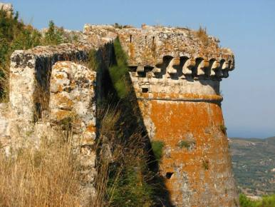 St George's Fortress, ex Kefalonian capital, close to Korallis Villas