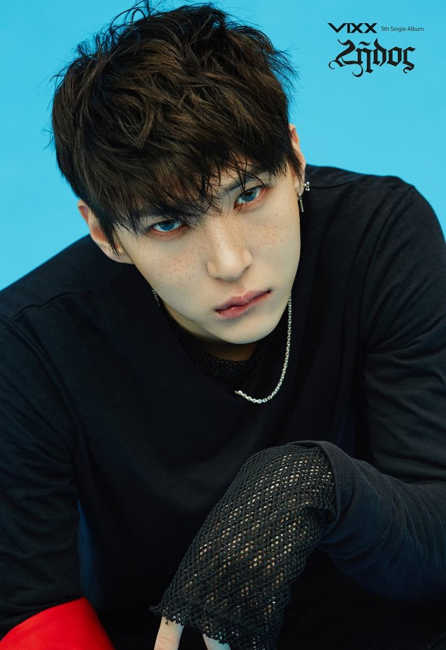 Image: VIXX Leo for Zelos album / Jellyfish Entertainment