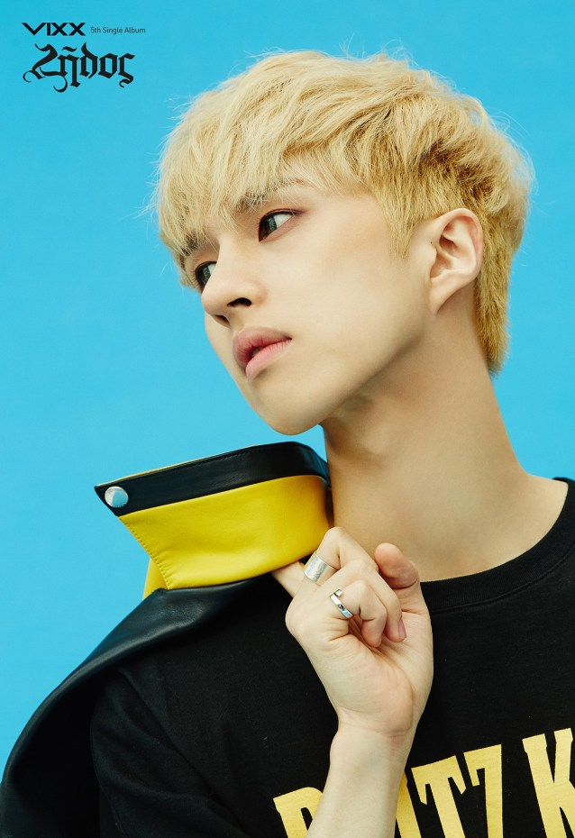 Image: VIXX Ken for Zelos album / Jellyfish Entertainment