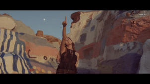 "Image capture from Jessica's ""Fly"" English music video / Coridel Entertainment"
