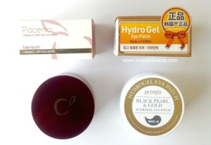 Korean beauty Review HydroGel eye patches – Berrisom and PetiteFee