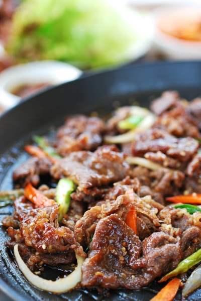 Korean BBQ Beef (Bulgogi) - easy bulgogi recipe | Korean Bapsang