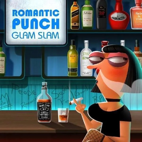 romantic punch glam slam