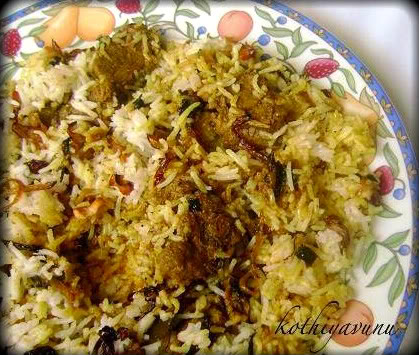 Chicken Biryani - Kerala Style