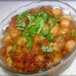 Channa Masala Recipe – Chickpeas Curry Recipe & My First Award