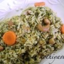 Spinach Rice Recipe | Spinach Pulao Recipe | Palak Pulao Recipe – Microwave Version