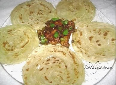 Kerala Parotta – Porotta Recipe | How to make Kerala Parotta from Scratch | Homemade Porotta