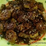 Thamara Valayam Mezhukkupuratti/Stir-fried Lotus Root & Award
