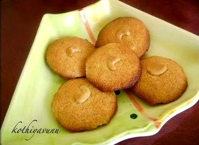 Coconut Cookies /Thenga Biscuit
