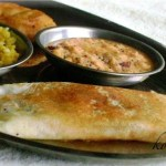 Masala Dosa Recipe – South Indian Breakfast   Indian Style Rice Crepes with Potato Filling