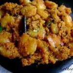 Chemmeen Thoran / Prawns/Shrimp with Grated Coconut Stir Fry