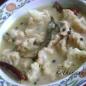 Cauliflower Rezala / Cauliflower in Yogurt and Spices Gravy