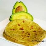 Avocado Paratha Recipe | Avocado Chappati Recipe | Indian Flat Bread with Avocado