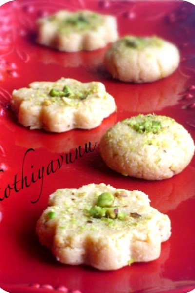 Milk Peda Recipe – Milk Sweet Recipe – Doodh Peda – Microwave Version