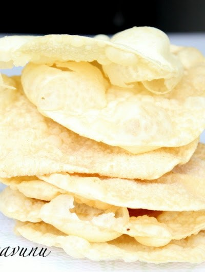 Pappadam Thoran Recipe – Stir fried Pappad Recipe   Crispy Lentil Flatbread Stir fry – Spicy Version