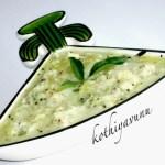 Vellarikka-Cucumber Pachadi|kothiyavunu.com
