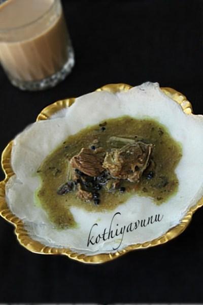 Palappam Recipe & Mutton Stew  Recipe – Kerala Style