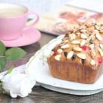 Cherry Cranberry Eggnog Tea Bread with Eggnog Glaze & Wish You all a Merry Christmas!