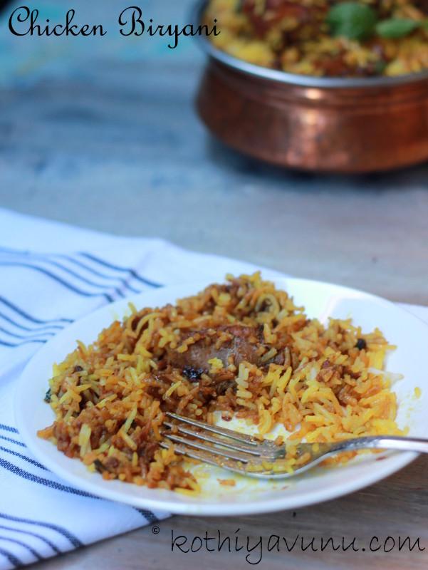 Pakistani Style Chicken Biryani