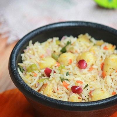 Paneer Fried Rice Recipe – Simple Paneer Rice Recipe