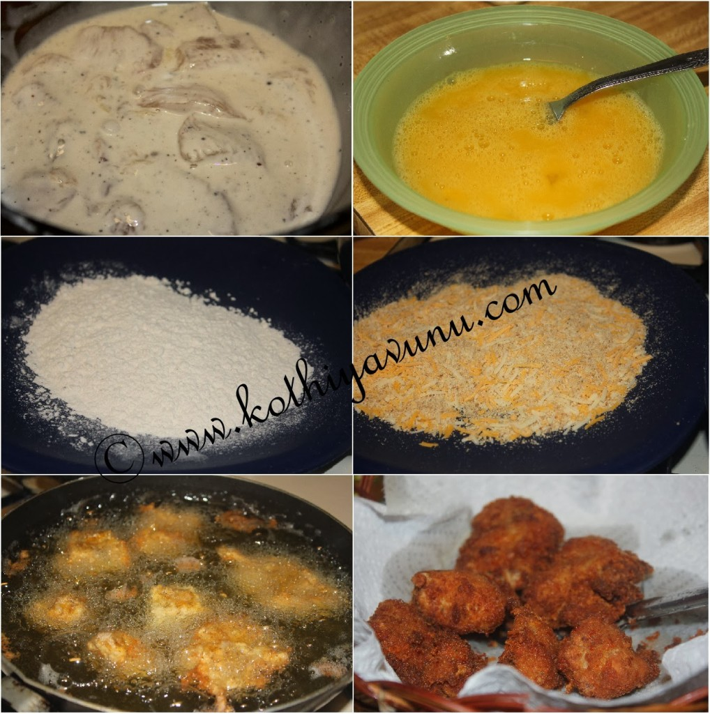 Chicken Nuggets: Fried Chicken Nuggets-Bites Recipe