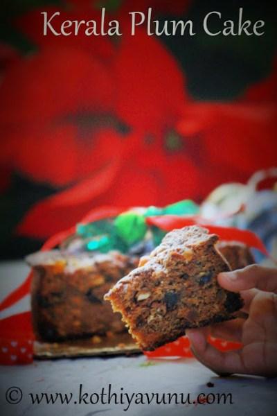 Kerala Plum Cake -Pressure Cooker Fruit Cake