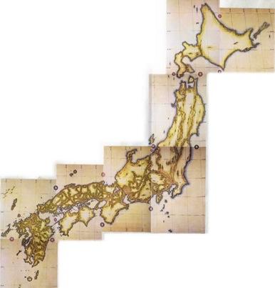 伊能忠敬『大日本沿海輿地全図』