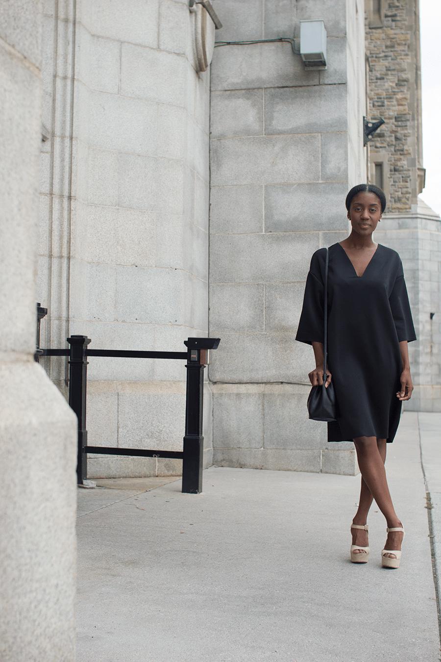 Black t shirt dress zara - Black Dress Zara 5