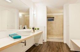 Badezimmer, neu, modern