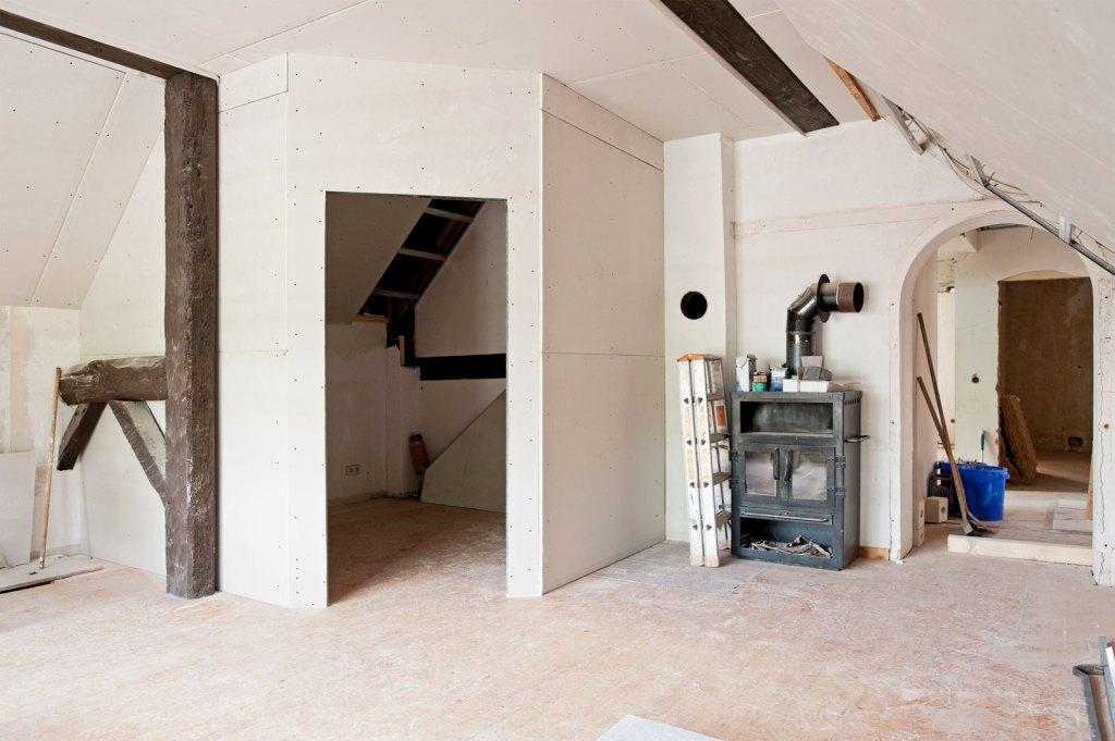 begehbare Schlafzimmer, Obergeschoss