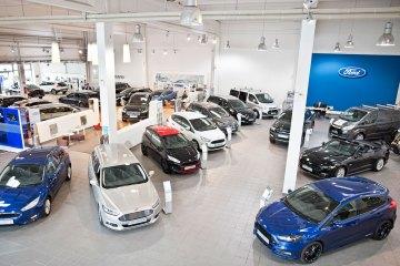 Autos, Verkaufsraum