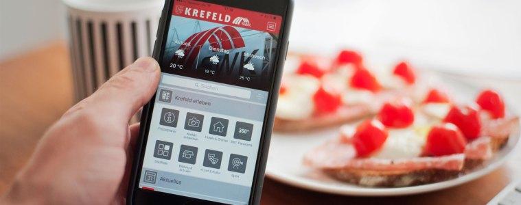 """""""Krefeld. - Natürlich. Alles drin."""" - Mein Tag mit der Krefeld-App"""