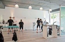 Studio, Innenansicht, Training