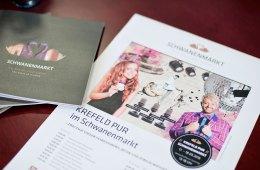 Novum 2016: die Gemeinschaftsbühne von Schwanenmarkt und SinnLeffers - Lockere Shows in Flieder und Lila