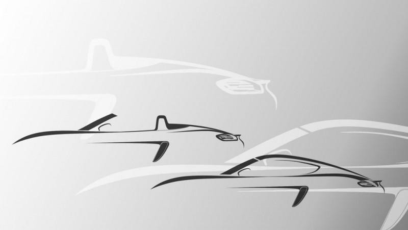 Een nieuwe generatie: Porsche 718 Boxster en 718 Cayman