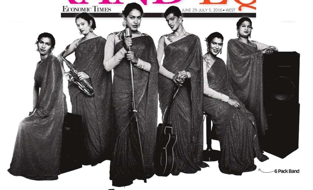 India's first transgender music group- `6 Pack Band' #LGBTQ