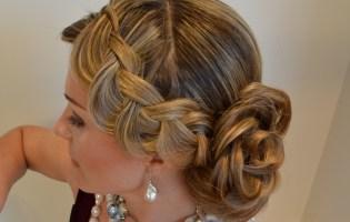 Chignon, coiffure de mariage