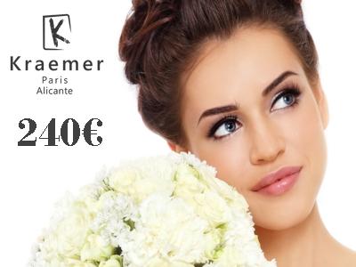 Offre spéciale maquillage et chignon mariage cérémonie: 240 €