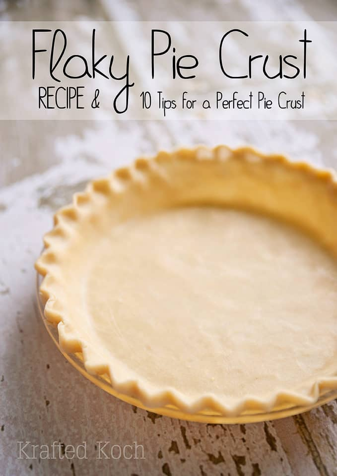 Flaky Pie Crust Recipe & 10 Tips for a Perfect Pie Crust ~ Page 2 of 2 ...