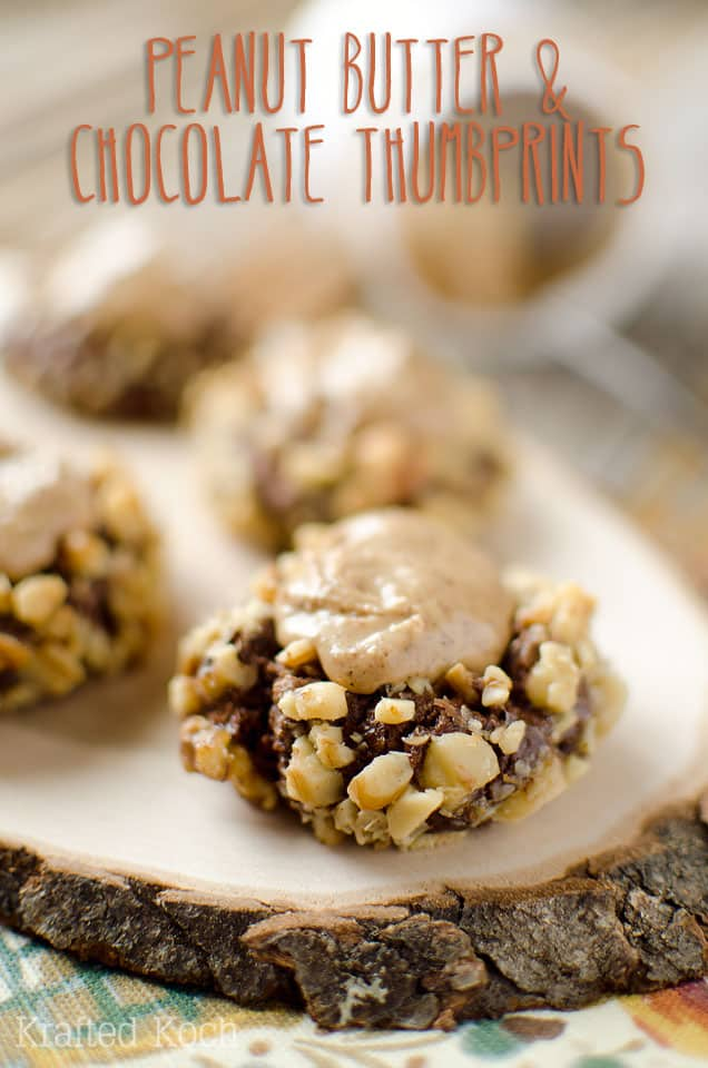Peanut Butter & Chocolate Thumbprint Cookies ~ Page 2 of 2 ...